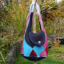 Sheepskin Bag in Bright Colours