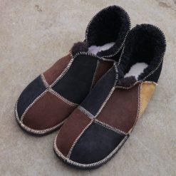 Sheepskin-Slippers-Black-Mocca-&-Spice-Size-12.b