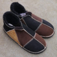 Sheepskin-Slippers-Black-Mocca-&-Spice-Size-12d