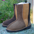 Sheepskin Boots Wildside in Bark Ginger & Mocca