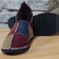 slippers merlot navy walnut size 4. mk4jpg