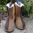 Sheepskin Boots Wildside in Natural Colours