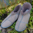 Sheepskin-slippers-in-vole-with-teal-stitching