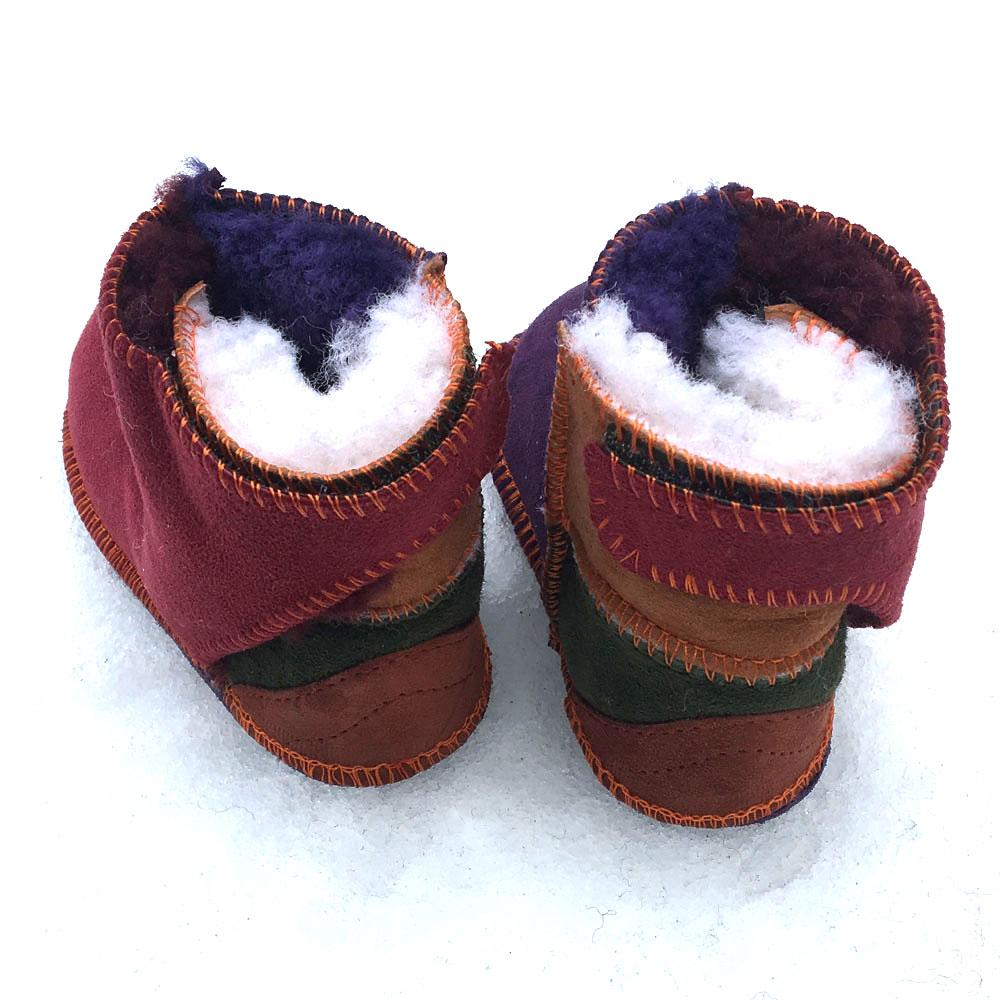 Baby Sheepskin Boots in Raj
