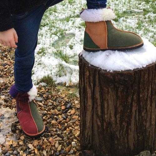 Kid's-sheepskin-boots-in-raj
