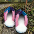 Sheepsskin-Mules-in-Navy-ocean-pink-&-purple