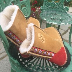 Women's Sheepskin Boots Spice