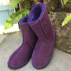 Sheepskin Boots Purple