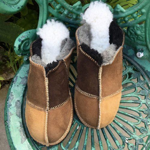 Ladies Sheepskin Mules