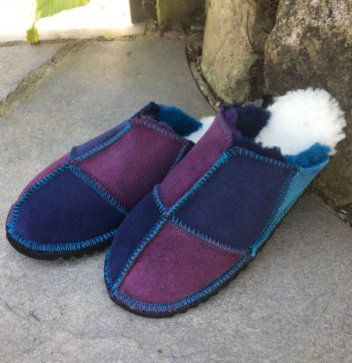 Women's Sheepskin Slippers - size 3