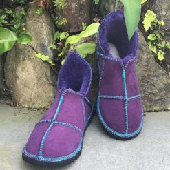 n Slippers Purple made in UK