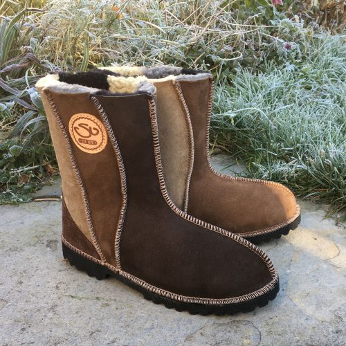 Sheepskin Boots Wildside Natural Colours