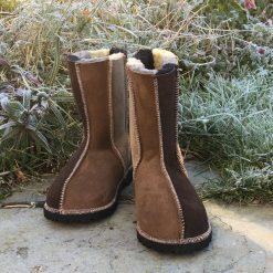 Sheepskin Boots Wildside Natural Colours