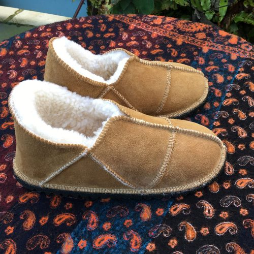 Sheepskin Slippers Spice