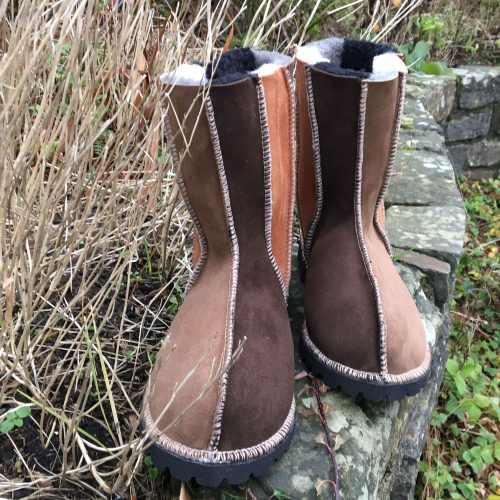 Sheepskin Boots Wildside Bark Ginger & Mocca
