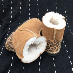 Kid's Sheepskin Boots Spice