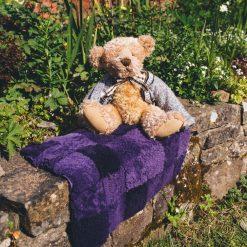 sheepskin sit-upon