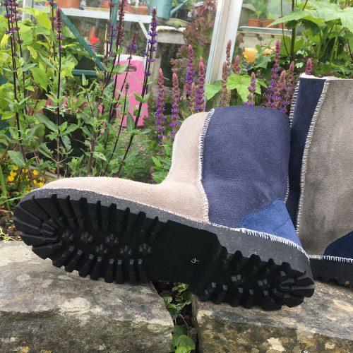 Sheepskin Boots Slate Vole