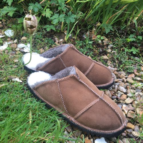 Sheepskin Slippers Mules Design