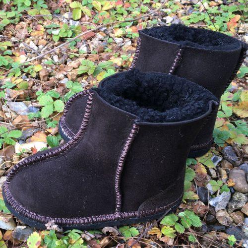 Kid's Sheepskin Boots Water Resistant