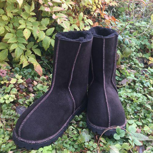 Men's Sheepskin Boots water-resistant