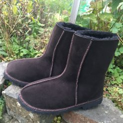 Men's Sheepskin Boots water-resistant