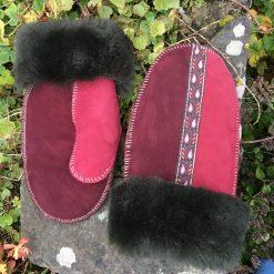 Ladies British Sheepskin Mittens