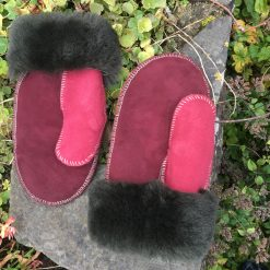 Ladies British Sheepskin Mittens