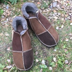 Sheepskin Slippers Natural Colours