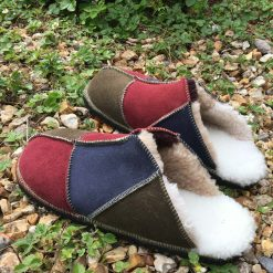 Sheepskin Slippers Muted Colours