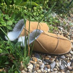 Sheepskin Slippers Spice Backless Mules