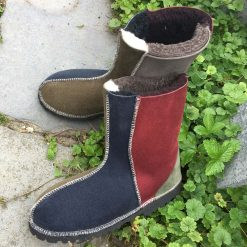 Sheepskin Boots in Muted Colours