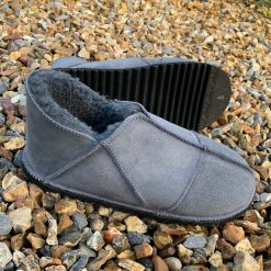 Sheepskin Slippers Grey