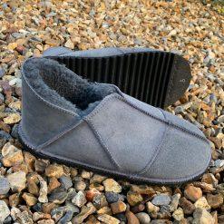 Sheepskin Slippers Grey