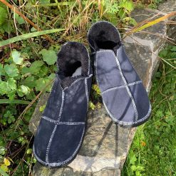 Sheepskin Slippers Indigo