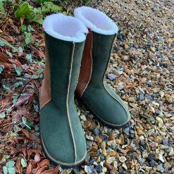 Calf-Height-Sheepskin-Boots-Fern-Ginger