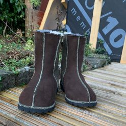 Men's Sheepskin Boots Brown