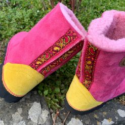 Sheepskin Boots Spring Colours