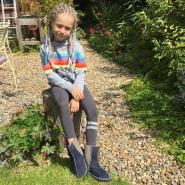 Kids-Sheepskin-Boots-Slate-damson